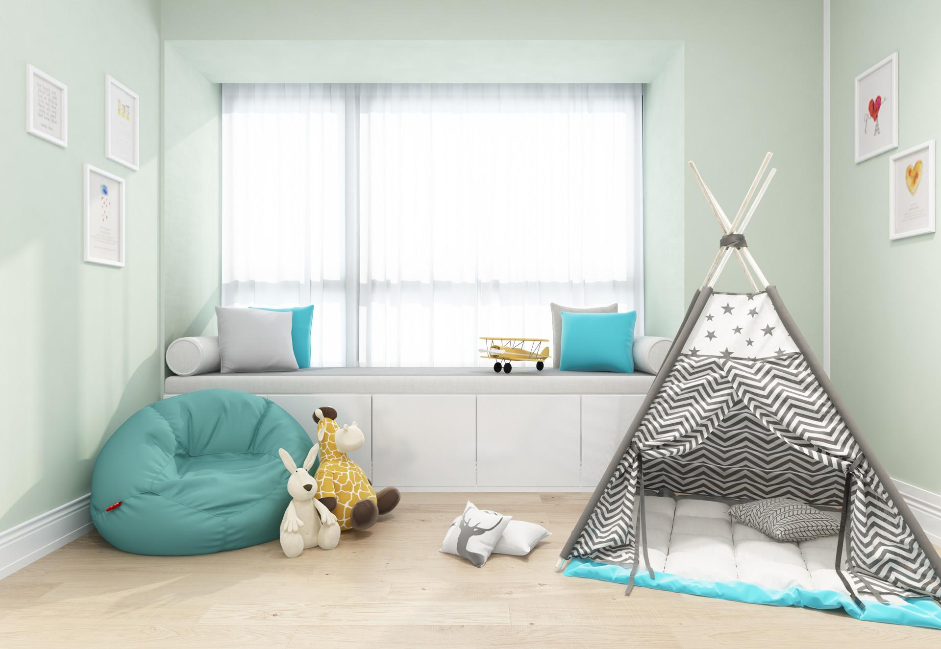 这样设计飘窗,让孩子玩乐成长空间翻倍!